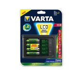 Batterij oplader Varta LCD Smart 4x2100MAH
