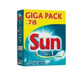 Vaatwastabletten Sun All-in-one 78 stuks