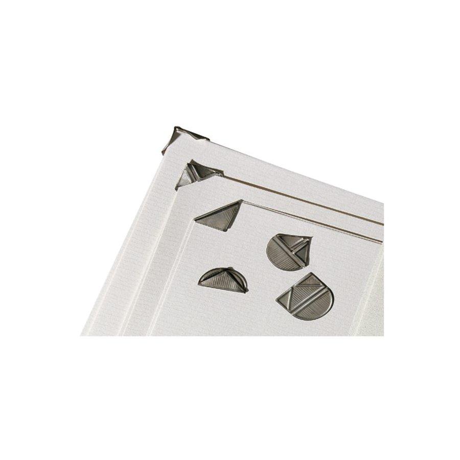 Hoekclip lpc zilverkleurig 100stuks bestel uw hoekclip lpc zilverkleurig 100stuks bij - Hoe u stuks scheidt ...