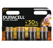 Batterij Duracell Plus Power 8xAA alkaline