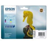 Inkcartridge Epson T048740 zwart + 5 kleuren