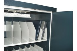 Laptopkast LL18 157x93x52cm 190kg zwart