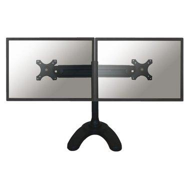 """monitorarm Newstar D700DD 2x19-30"""" op voet zwart"""