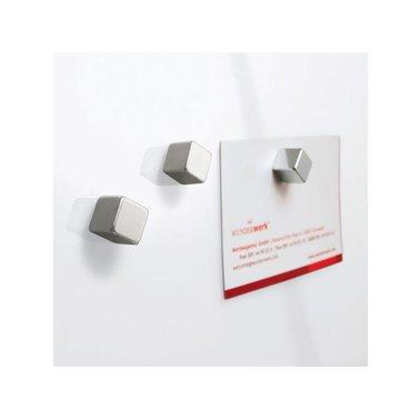 Glasbord Sigel magnetisch 300x300x15mm wit