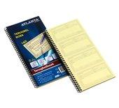 Terugbelboek Atlanta A5419-090 74x125mm 120x2stuks zelfkl