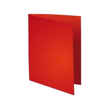 Vouwmap Exacompta Flsah A4 80gr rood