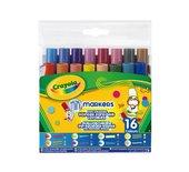 Viltstift Crayola Pipsqueaks mini fantasiepunt 16 stuks ass