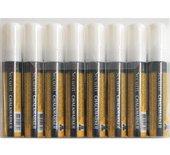 Krijtstift Securit SMA-720 blok wit 7-15mm blister à 8st