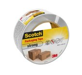 Verpakkingstape Scotch strong 48mmx66m transparant PP