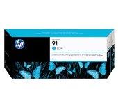 Inkcartridge HP C9467A 91 blauw