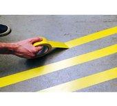 Markeringstape 55mmx33m geel