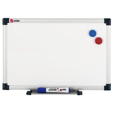 Whiteboard Nobo 60x45cm magnetisch gelakt staal