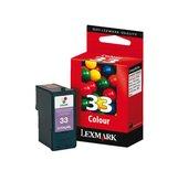 Inkcartridge Lexmark 18CX033E 33 kleur