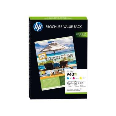 Inkcartridge HP CG898AE 940XL 100vel A4 + 3 cartridges