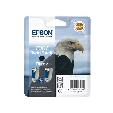 Inkcartridge Epson T007402 zwart 2x