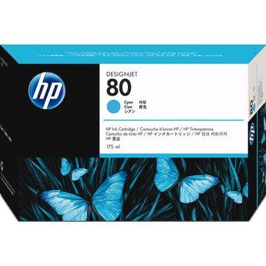 Inkcartridge HP C4872A 80 blauw