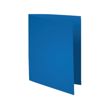 Vouwmap Exacompta Flsah A4 80gr donkerblauw