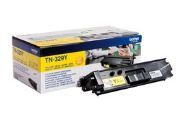 Tonercartridge Brother TN-329Y geel