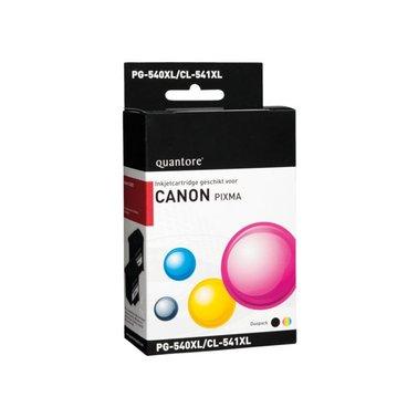 Inkcartridge Quantore Canon PG-540XL CL-541XL zwart kleur