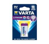 Batterij Varta Professional lithium 9Volt