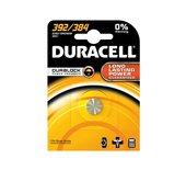 Batterij Duracell knoopcel 392 alkaline Ø7,9mm 1,5V-45mAh