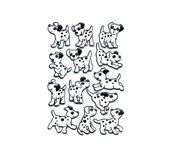 Etiket Herma 6661 dalmatiërs