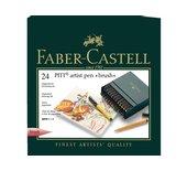 Brushstift Faber Castell Pitt Artist 24 stuks assorti