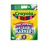 Stempelstift Crayola dieren 8 stuks