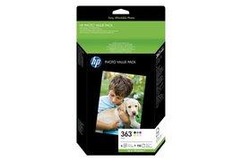 Inkcartridge HP Q7966EE 363 150vel 10x15 + 6 cartridges