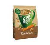 Cup-a-soup tbv dispenser rundvlees zak met 40 porties