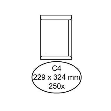 Envelop Quantore akte C4 229x324mm wit 250stuks