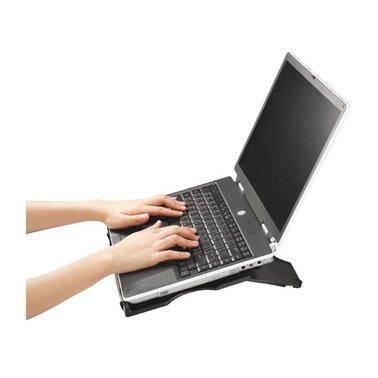 Laptopstandaard Quantore antraciet