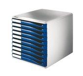 Ladenbox Leitz 5281 10 laden blauw