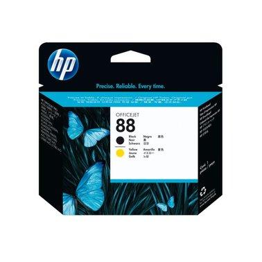 Printkop HP C9381A 88 zwart+geel