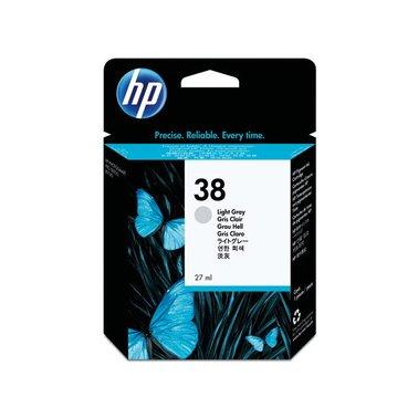 Inkcartridge HP C9414A 38 lichtgrijs
