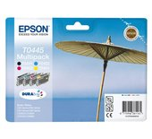 Inkcartridge Epson T044540 zwart + 3 kleuren