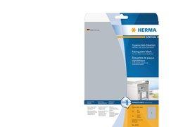 Etiket Herma 4224 210x297mm zilver 25stuks