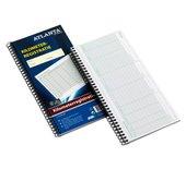 Kilometer registratieboek Atlanta A5419-042 40x2vel