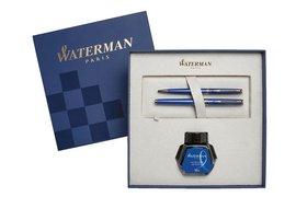 Schrijfset Waterman Hemmsphere Blue Obsession vulpen+balpen