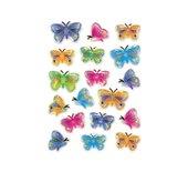 Etiket Herma 5251 vlinder 3D