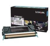 Tonercartridge Lexmark X746H1KG prebate zwart