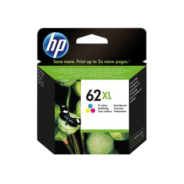 Inkcartridge HP C2P07AE 62XL kleur HC