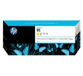 Inkcartridge HP C9469A 91 geel