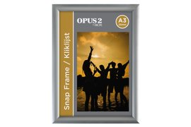 Kliklijst Opus2 A3 25mm