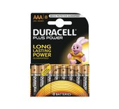 Batterij Duracell Plus Power 8xAAA alkaline
