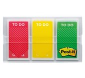 Indextabs 3M Post-it 682TODO rood/geel/groen