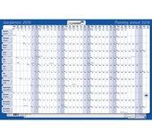 Jaarplanner 2018 Legamaster 60x90cm horizontaal oprolbaar