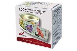 Postzegel Belgie waarde 1 zelfklevend 100 stuks