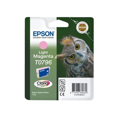 Inkcartridge Epson T0796 lichtrood