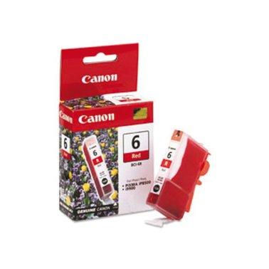 Inkcartridge Canon BCI-6R rood